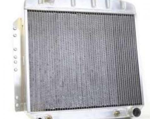 Chevy Aluminum Radiator, Automatic Transmission, Top Left Outlet, LT1, Griffin Pro Series, 1949-1954