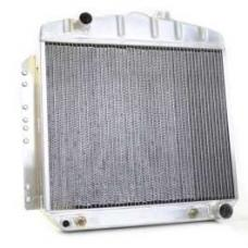 Chevy Aluminum Radiator, Automatic Transmission, Top Left Outlet, LS Engine, Griffin Pro Series, 1949-1954