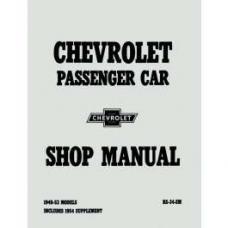 Chevy Shop Manual, Passenger Car, 1949-1954