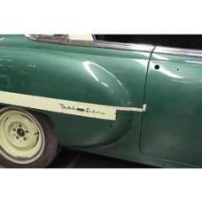 Chevy Bel Air Quarter Panel Scripts, 1953-1954