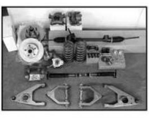 Chevy Front Suspension Components, Mustang II, Chassis Engineering, 1949-1954
