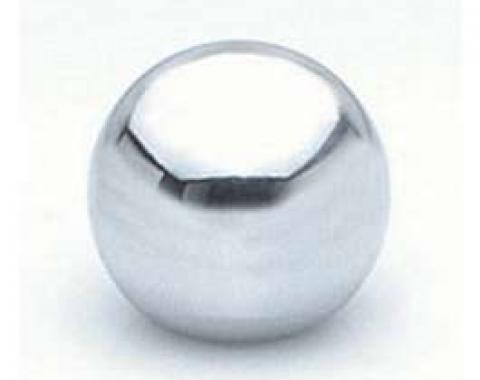 Chevy Shift Ball, Chrome, 5/16 Thread, 1949-1954