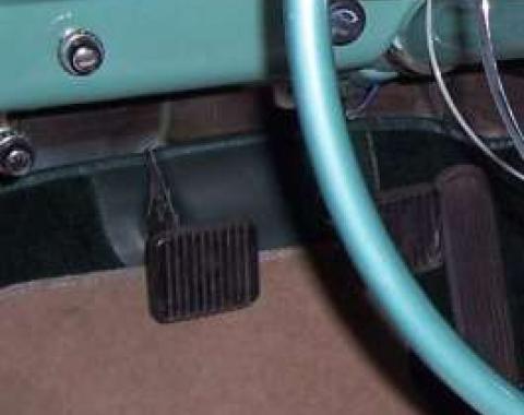 Chevy Pedal Pad, Brake & Clutch, 1953-1954