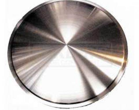 Early Chevy Wheel Cover Discs, Brushed Aluminum, 15, 1949-1954