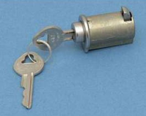 Glove Box Lock With Keys, 1949-1967