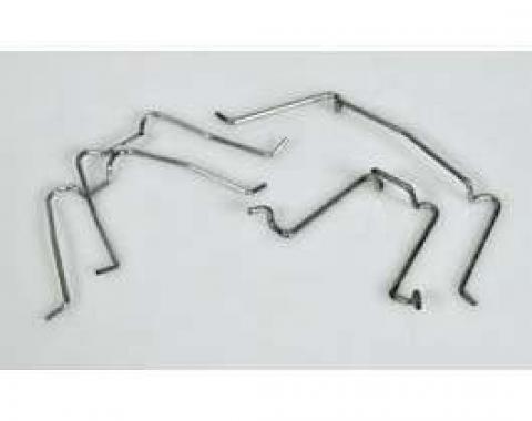 Chevy Headlight Bezel Clips, 1949-1952