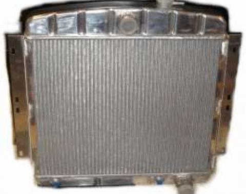 Chevy Aluminum Radiator, 2-Row, 1949-1954