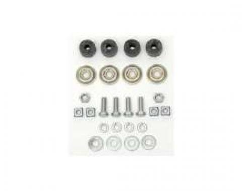 Chevy Shock Absorber Installation Kit, Front, 1949-1954