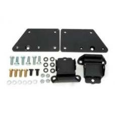 Chevy Engine Mount Adapters, Paintable Aluminum, LS Series Engine, 1949-1954