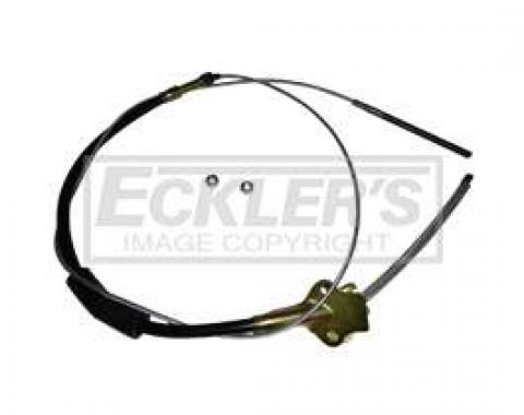 Chevy Emergency Brake Cable, Rear, 1951-1954
