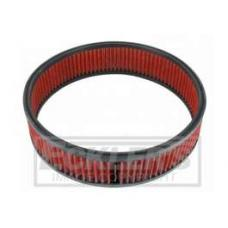 Early Chevy Spectre Performance Low Profile Air Box Replacement Filter, Red