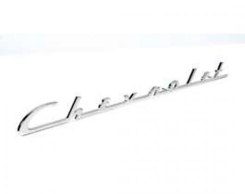 Chevy Chevrolet Trunk Script, 1954