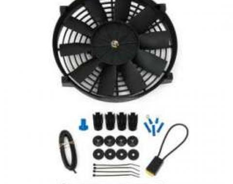 Chevy Electric Cooling Fan, 10, 1949-1954
