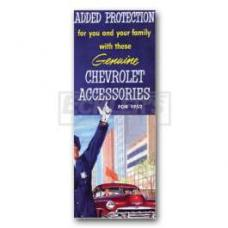 Early Chevy Accessory Book, 1952