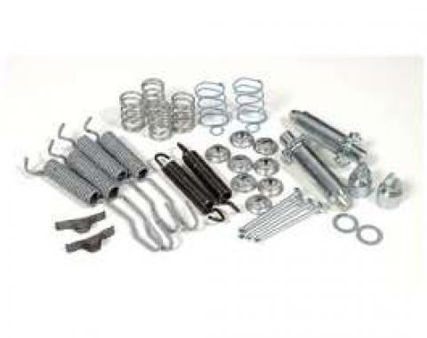 Chevy Brake Hardware Kit, Rear, 1951-1954