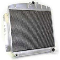 Chevy Aluminum Radiator, Manual Transmission, Top Center Outlet, Griffin Pro Series, 1949-1954