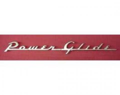 Chevy Powerglide Trunk Emblem, 1954