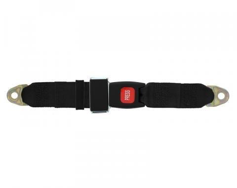 "Seatbelt Solutions Universal Lap Belt 60"" with Plastic Push Button"