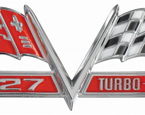 Fender Emblems, 427 Turbo-Jet, 1965-1967
