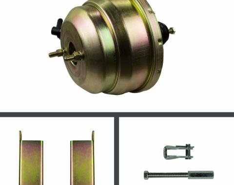 Right Stuff 8 Dual Booster w/ Rod & Bracket - Stainless RPB8231S