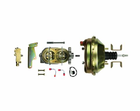 """Right Stuff Upper Assembly with Gold Booster, 1.125"""" Bore, ValveandLines G92210971"""