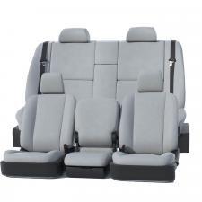 Covercraft Precision Fit Leatherette Front Row Seat Covers GTC1081LTLG
