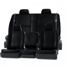 Covercraft Precision Fit Leatherette Front Row Seat Covers GTC1081LTBK