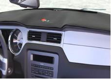 Covercraft 1985-1990 Chevrolet Cavalier Limited Edition Custom Dash Cover by DashMat, Grey 61200-00-47