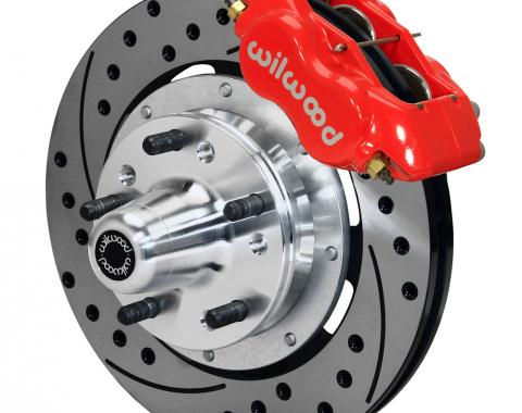 Wilwood Brakes Forged Dynalite Big Brake Front Brake Kit (Hub) 140-12022-DR