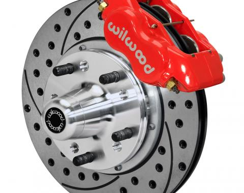 Wilwood Brakes Forged Dynalite Pro Series Front Brake Kit 140-12021-DR
