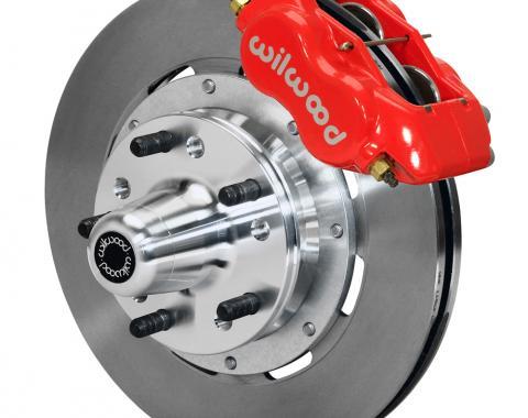Wilwood Brakes Forged Dynalite Big Brake Front Brake Kit (Hub) 140-12022-R