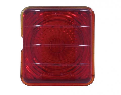 United Pacific Glass Tail Light Lens For 1951-52 Chevy Passenger Car C4004