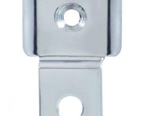 United Pacific Polished Stainless Steel Interior Mirror Bracket For 1947-53 Chevy & GMC Truck C475351