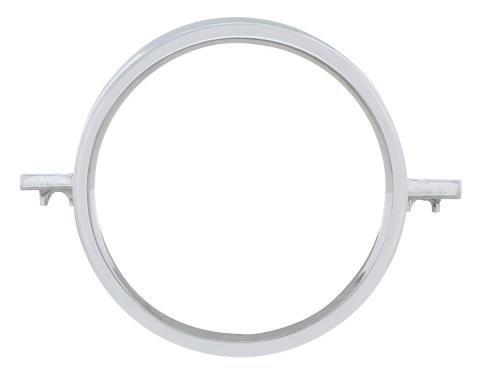 United Pacific Chrome Tail Light Lens Trim For 1964 Chevy Passenger Car C6402