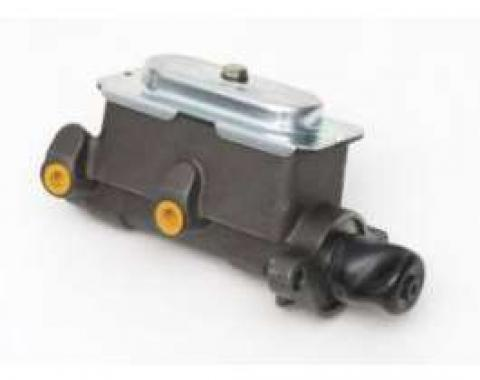 Full Size Chevy Dual Master Cylinder, For Manual Drum Brakes, 1958-1972