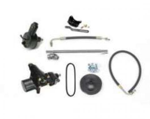 Full Size Chevy Power Steering Conversion, 500 Series, Small Block, 1958-1964