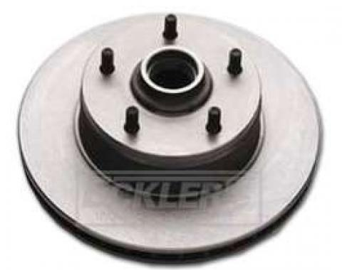 Full Size Chevy Hub And Disc Brake Rotor Assembly, For Four Piston Calipers, 1967-1968