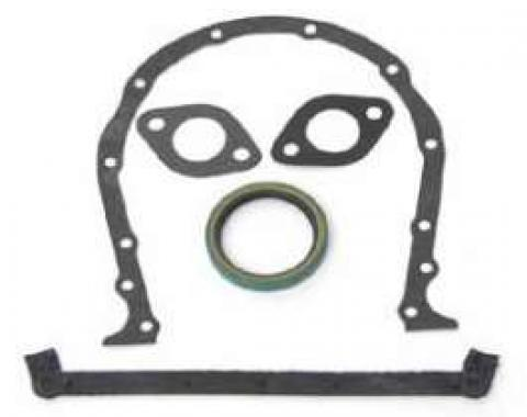 Full Size Chevy Timing Cover Gasket Set, Big Block,1965-1972