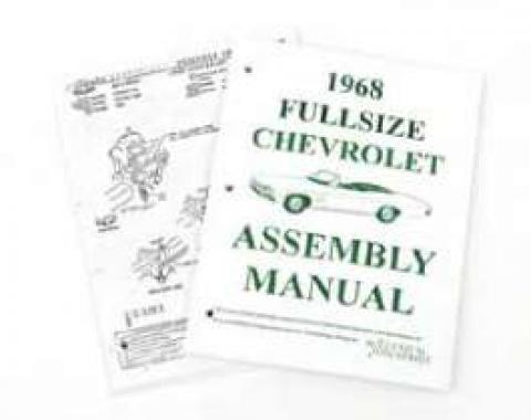 Full Size Chevy Factory Assembly Manual, 1968