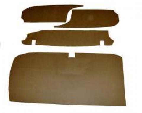Chevy Trunk Upholstery Panel Kit, 1/4 Tempered Hardboard, 1962-1964