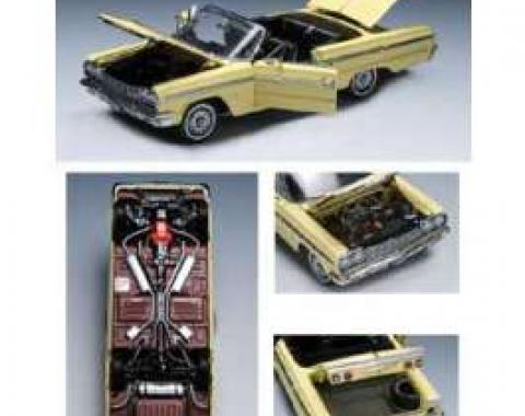 Chevy Die-Cast Model, Impala SS Convertible, 1964
