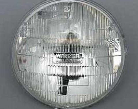 Full Size Chevy Halogen Low Beam Headlight Bulb, 1958-1976