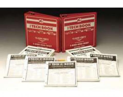 Full Size Chevy Tech Book Set, 1958-1972