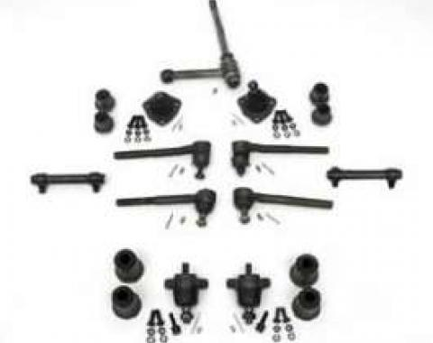 Full Size Chevy Front End Suspension Rebuild Kit, Deluxe, 1965-1966