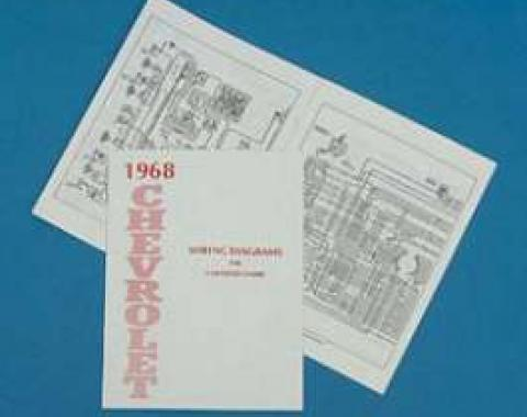 Full Size Chevy Wiring Harness Diagram Manual, 1968