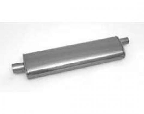 Full Size Chevy Muffler, Stainless Steel, 29, 1958-1964