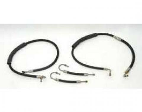 Full Size Chevy Power Steering Hose Set, 1958-1959