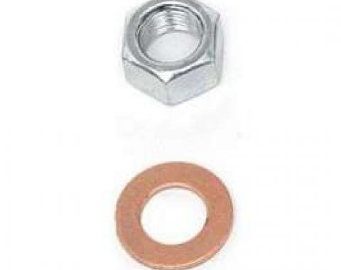Full Size Chevy Rear End Housing Washer & Nut Kit, 1958-1964