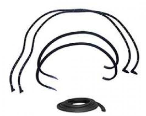 Full Size Chevy Weatherstrip Kit, Mini, 2-Door Hardtop, Impala, 1963-1964