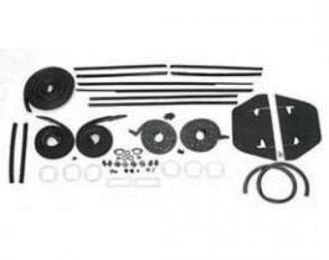 Full Size Chevy Weatherstrip Kit, 2-Door Hardtop, Impala, 1964